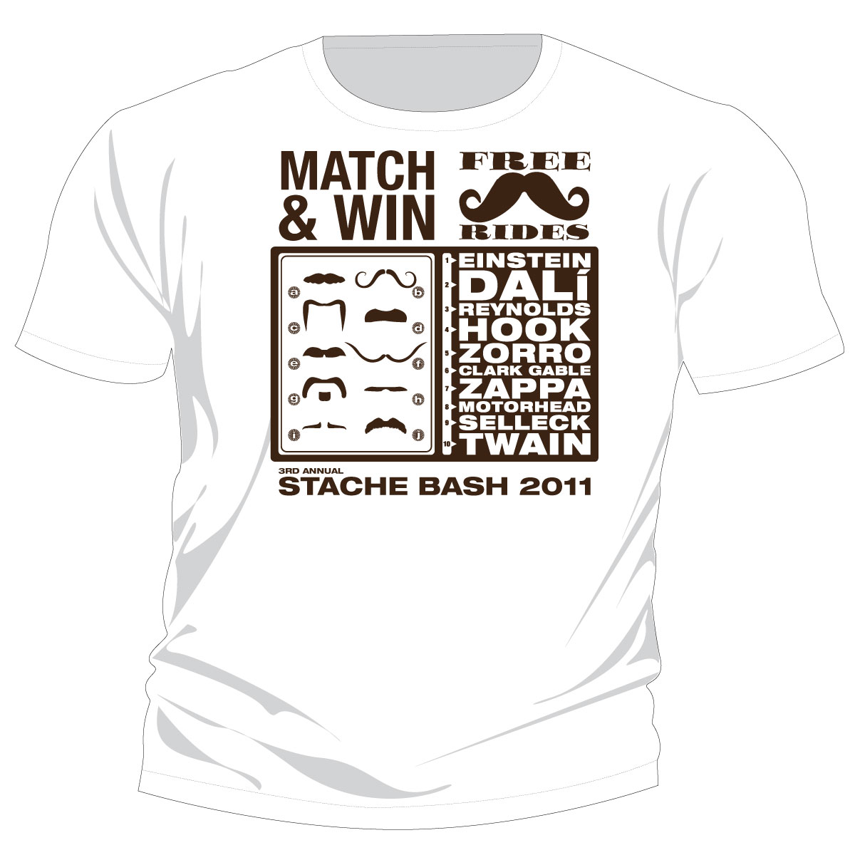 2011 Shirt Design: Match & Win